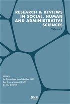 Research and Reviews in Social, Human and Administrative Sciences Volume 1