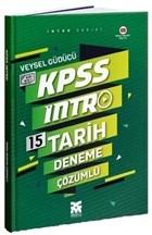 2021 KPSS Intro 15 Tarih Deneme Çözümlü