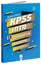 2021 KPSS 18 Coğrafya Deneme Çözümlü