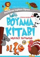 Etkinliklerle Boyama Kitabı İngilizce Hayvanlar