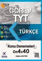 2021 TYT Görev Türkçe Konu Denemeleri On4x40