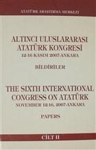 Altıncı Uluslararası Atatürk Kongresi Cilt 2
