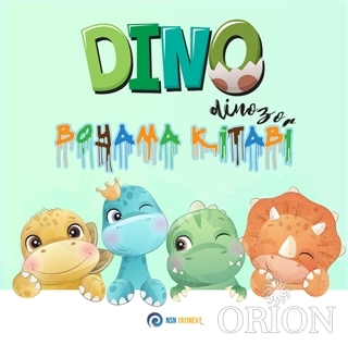 Dino Dinozor - Boyama Kitabı
