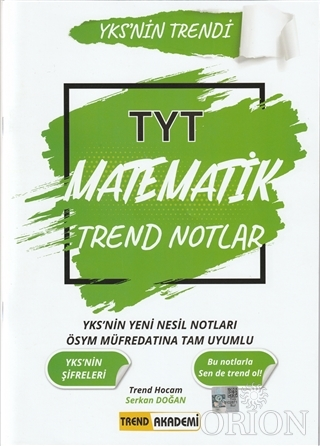 2021 TYT Matematik Trend Notlar