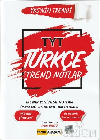 2021 TYT Türkçe Trend Notlar