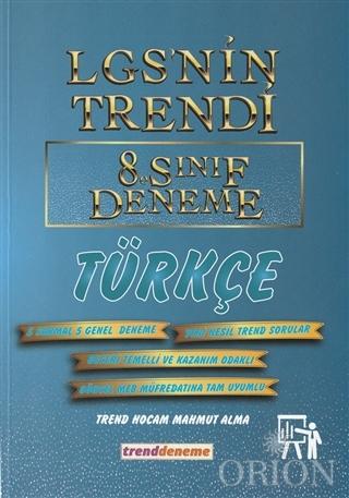 2021 LGS'nin Trendi 8.Sınıf Deneme Türkçe