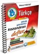 8. Sınıf - Türkçe Okula Yardımcı Kazandıran Defter
