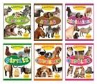 Çıkartmalı Hayvanlar Serisi (6 Kitap Takım)
