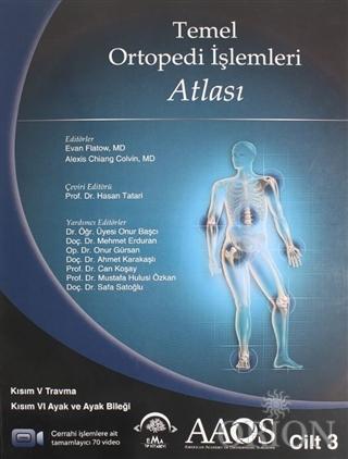 Temel Ortopedi İşlemleri Atlası 3.Cilt
