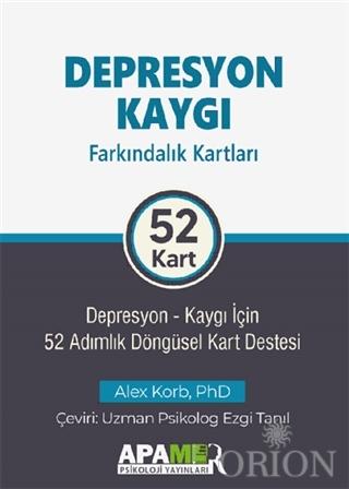 Depresyon Kaygı Farkındalık Kartları 52 Kart