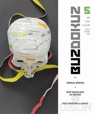 Buzdokuz Şiir-Teori-Eleştiri Dergisi Mayıs - Haziran 2021