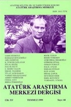 Atatürk Araştırma Merkezi Dergisi Cilt: 14 Temmuz 1999 Sayı: 44