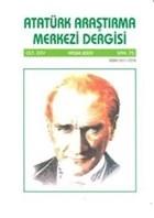 Atatürk Araştırma Merkezi Dergisi Cilt: 25 Kasım 2009 Sayı: 75