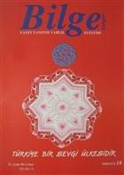 Bilge Dergisi: 1998 / Güz 18