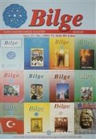 Bilge Dergisi Sayı:33 / Yaz 2002