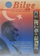 Bilge Dergisi Sayı: 35 / Kış 2002