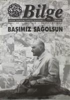 Bilge Dergisi Sayı: 22 Güz 1999