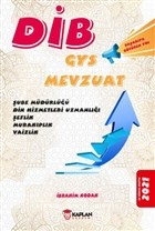 2021 DİB GYS Mevzuat Şube Müdürlüğü Din Hizmetleri Uzmanlığı Şeflik Murakıplık Vaizlik