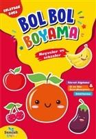 Meyveler ve Sebzeler - Kolaydan Zora Bol Bol Boyama