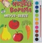 Neşeli Boyama - Meyve Sebze