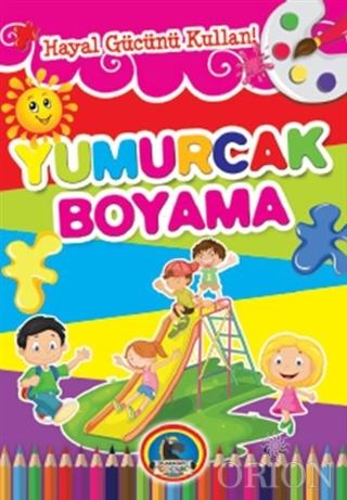 Yumurcak Boyama Kitabı (8 Kitap Takım)