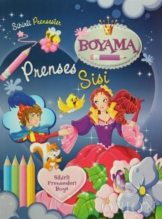 Sihirli Prensesler Boyama - Prenses Sisi