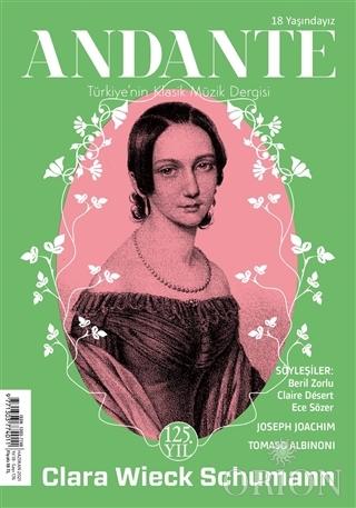 Andante Müzik Dergisi Yıl: 18 Sayı: 176 Haziran 2021