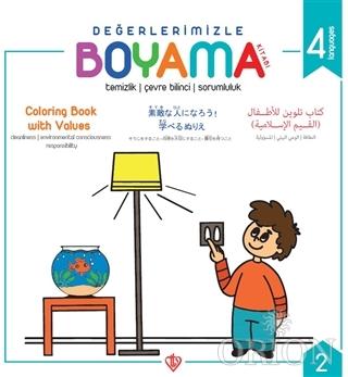 Değerlerimizle Boyama Kitabı 2