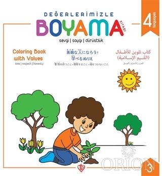 Değerlerimizle Boyama Kitabı 3