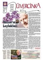 Üvercinka Dergisi Sayı: 79-80 Mayıs-Haziran 2021
