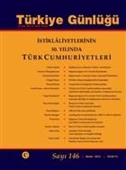 Türkiye Günlüğü Üç Aylık ve Kültür Sayı: 146 Bahar 2021