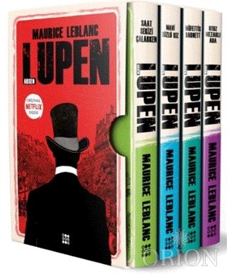 Arsen Lüpen-Kutulu Siyah Set (4 Kitap Takım)