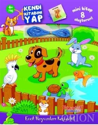 Evcil Hayvanları Keşfedin! - Kendi Kitabını Yap