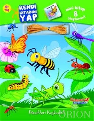 Kendi Kitabını Yap Böcekleri Keşfedin!