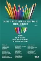 Sosyal ve Beşeri Bilimlerde Araştırma ve Değerlendirmeler Mayıs Cilt 1