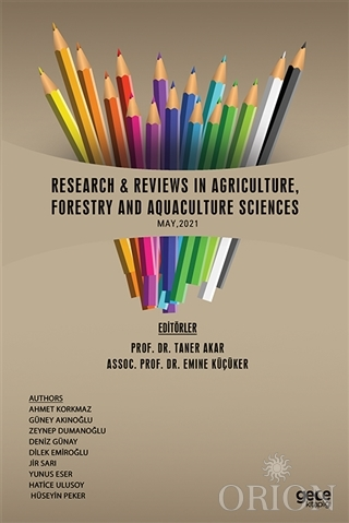 Research Reviews In Agriculture, Forestry and Aquaculture Sciences, May