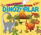 Çıkartmalı Boyama Kitabım - Dinozorlar