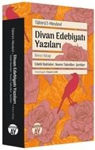 Divan Edebiyatı Yazıları - İkinci Kitap