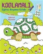 Kodlamalı Eğitici Boyama Kitabı - Eğlenceli Hayvanlar (5-6 Yaş 1. Seviye)