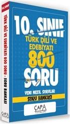 10.Sınıf Türk Dili ve Edebiyatı 800 Soru Yeni Nesil Sorular - Soru Bankası