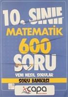 10. Sınıf Matematik 600 Soru Yeni Nesil Sorular Soru Bankası
