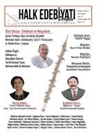 Halk Edebiyatı Dergisi Sayı: 43 Temmuz-Ağustos 2021