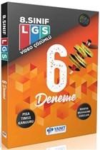 Yanıt LGS 6 Fasikül Deneme Video Çözümlü