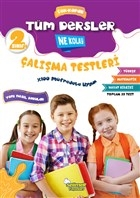 2. Sınıf Tüm Dersler Çek-Kopar Ne Kolay Çalışma Testleri