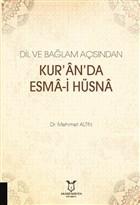 Dil ve Bağlam Açısından Kur'an'da Esma-i Hüsna