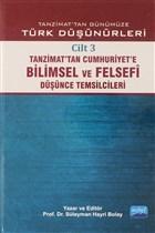 Tanzimat'tan Günümüze Türk Düşünürleri Cilt: 3