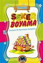 Örnekli Şeker Boyama Kitabı