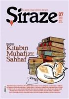 Şiraze İki Aylık Kitap Kültürü Dergisi Sayı: 07 Eylül-Ekim 2021
