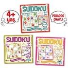 Çocuklar İçin Sudoku Seti (4+ Yaş) (3 Kitap Takım)