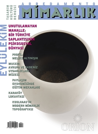 Arredamento Mimarlık Tasarım Kültürü Dergisi Sayı: 348 Eylül-Ekim 2021